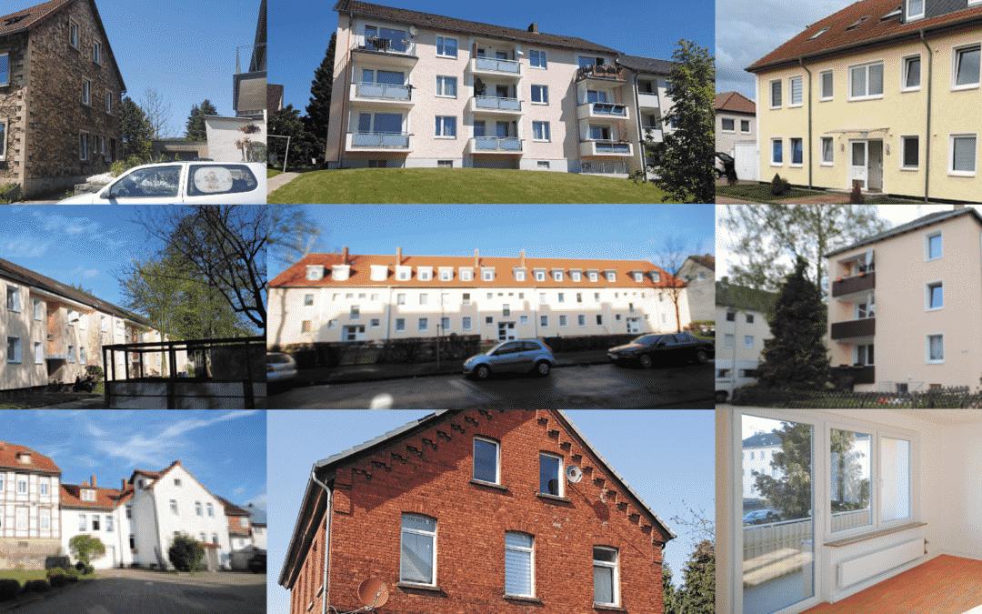 127 Wohnungen im Paket zu verkaufen
